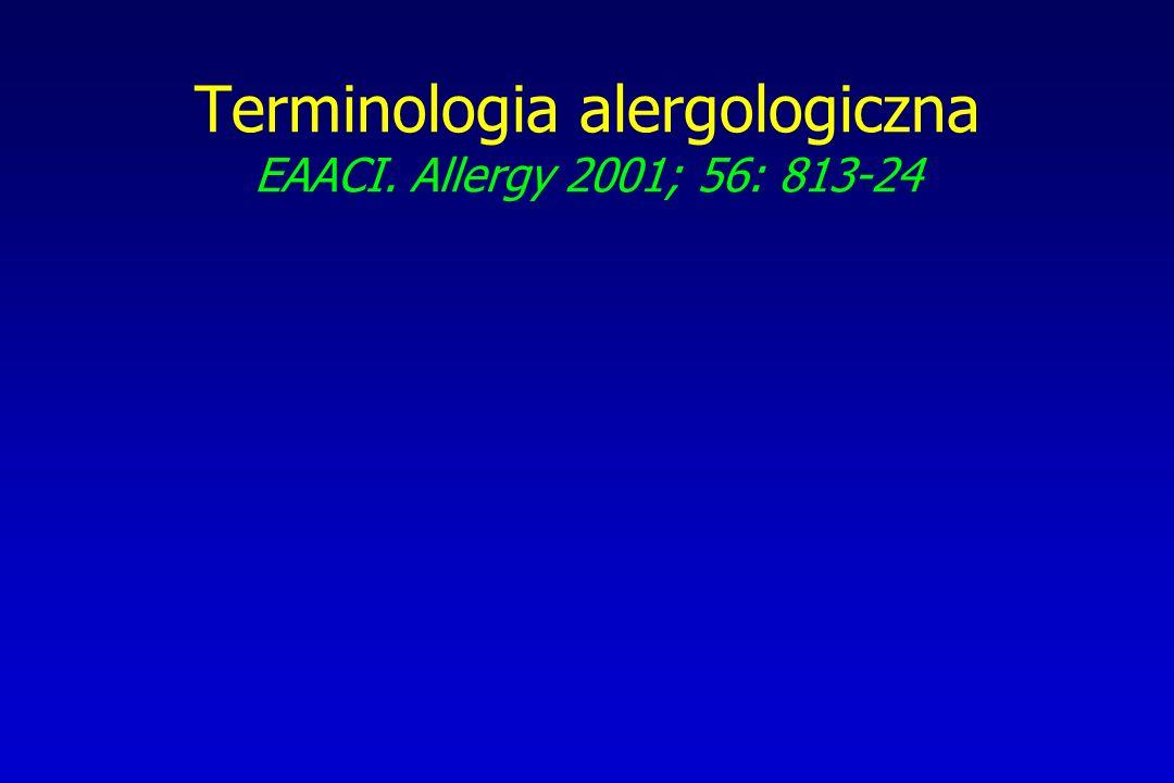 Leczenie alergii pokarmowej - wytyczne ESPGHAN/ESPACI Arch Dis Child 1999; 81: 80-84 Alergia na białka pokarmowe z towarzyszącymi zaburzeniami trawienia i wchłaniania –preparaty o znacznie zmniejszonej alergenności –bezlaktozowe; zawierające MCT –do czasu regeneracji błony śluzowej Alergia na białka pokarmowe bez towarzyszących zaburzeń trawienia i wchłaniania –preparaty o znacznie zmniejszonej alergenności lub mieszanki elementarne, których skład [poza modyfikacją białka] odpowiada zaleceniom dla mlek modyfikowanych