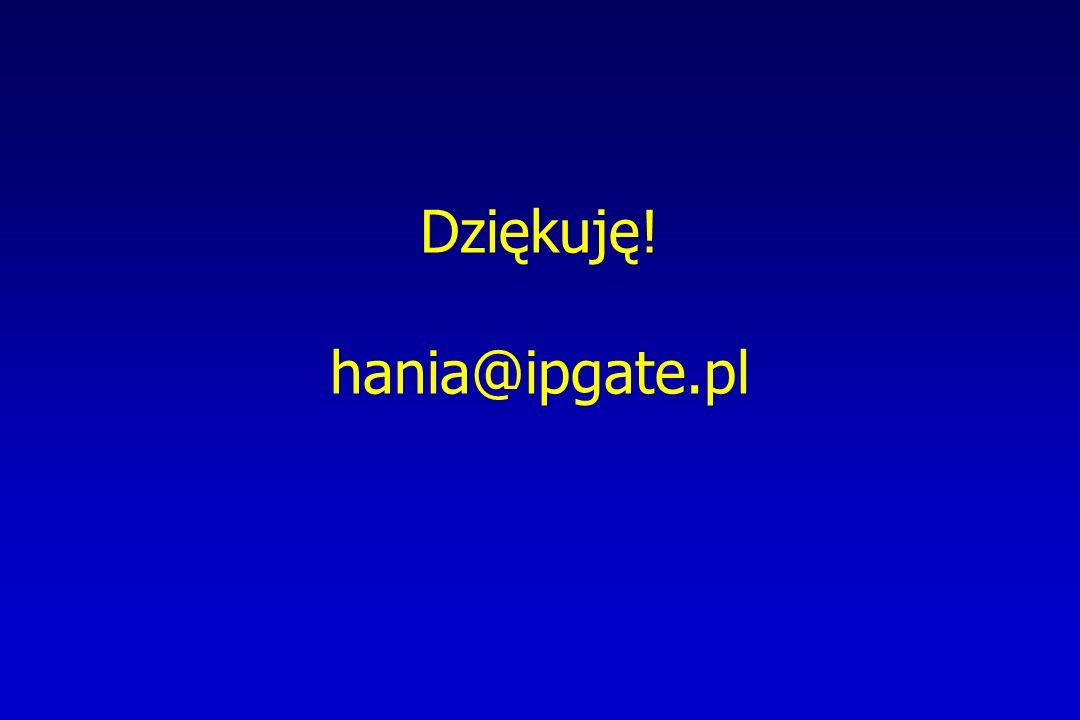 Dziękuję! hania@ipgate.pl