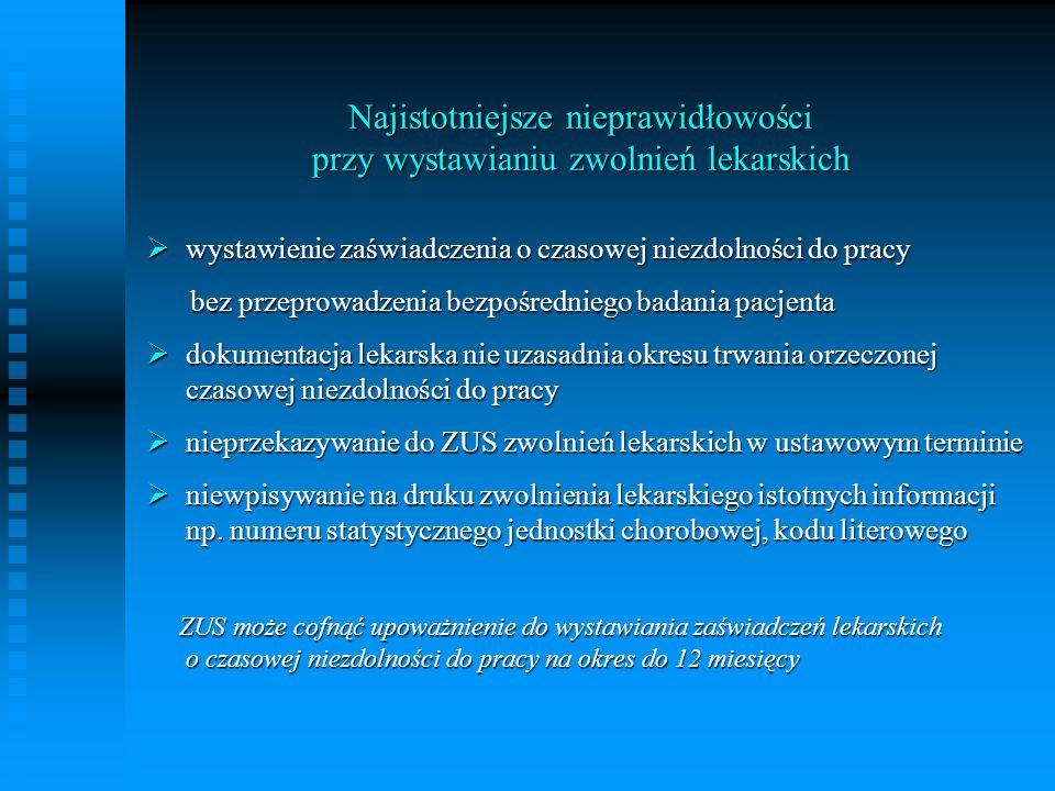 ŚWIADCZENIE REHABILITACYJNE Art.18.