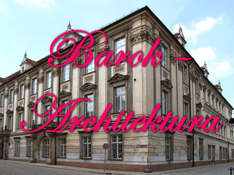 Kolejny, po renesansie, styl w architekturze nowożytnej nazywany jest barokiem.