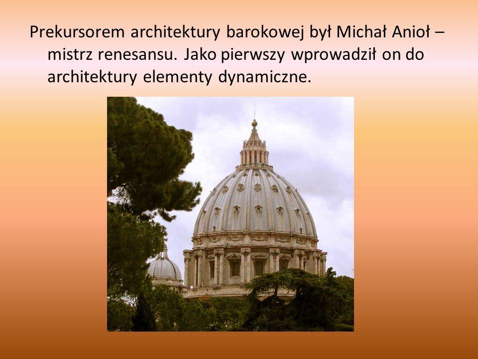Architektura sakralna krzywej eliptycznej W budownictwie sakralnym występują znane z epok wcześniejszych rozwiązania.