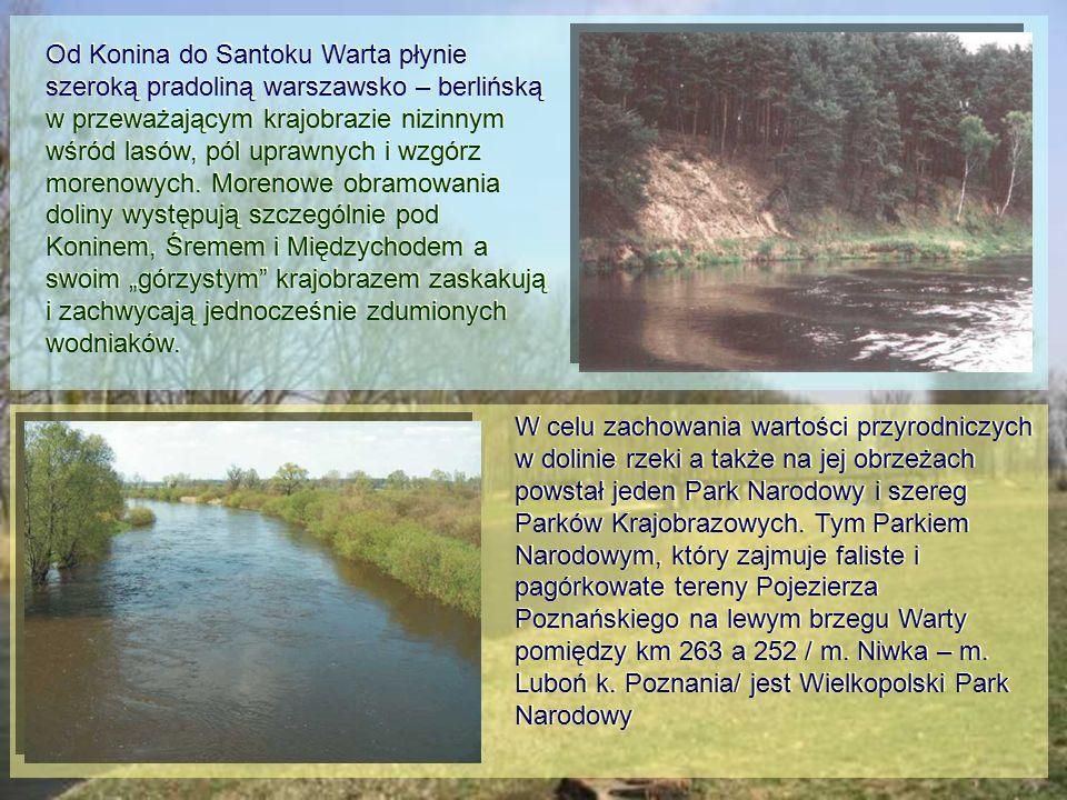 W celu zachowania wartości przyrodniczych w dolinie rzeki a także na jej obrzeżach powstał jeden Park Narodowy i szereg Parków Krajobrazowych.
