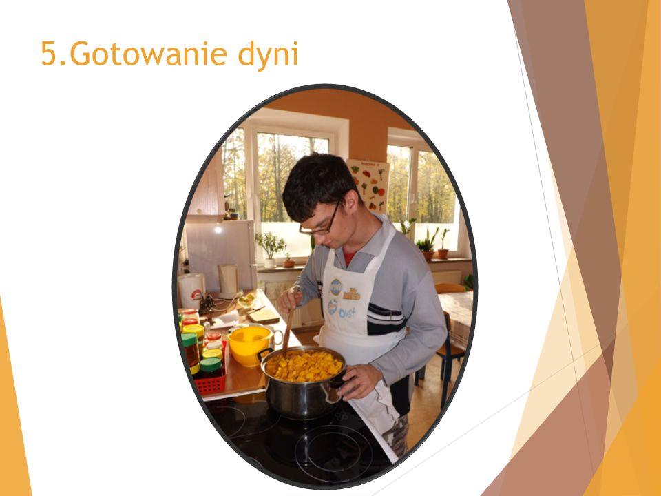5.Gotowanie dyni
