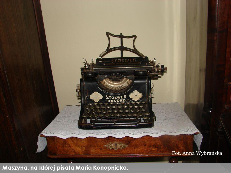 Maszyna, na której pisała Maria Konopnicka.