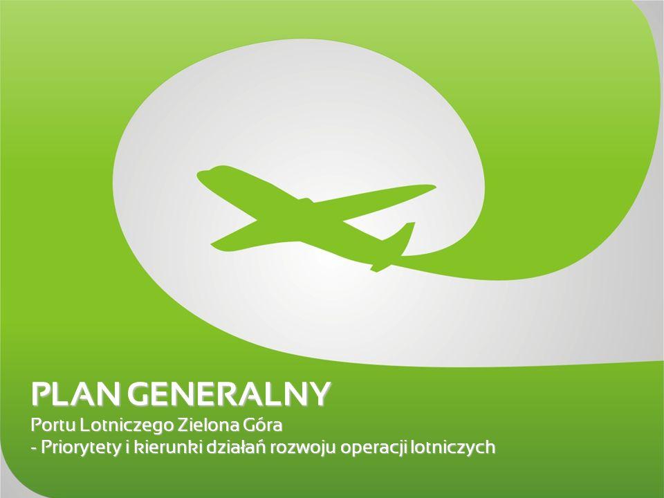 PLAN GENERALNY Portu Lotniczego Zielona Góra – - Priorytety i kierunki działań rozwoju operacji lotniczych