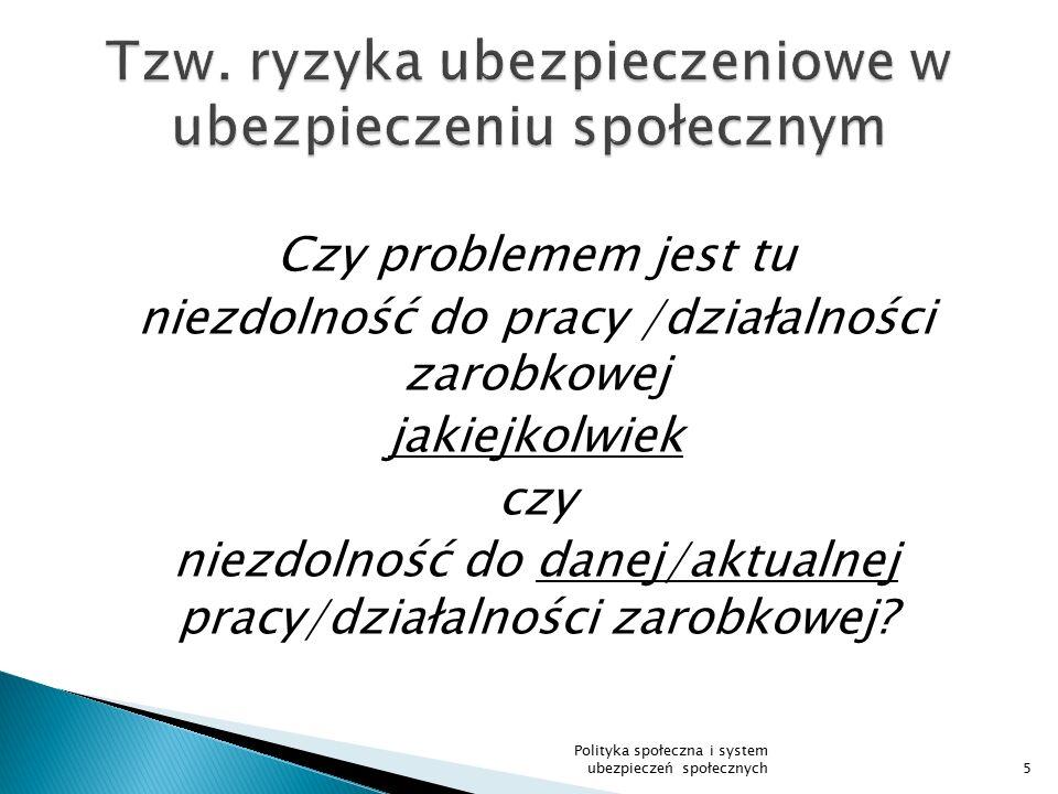 Realizacja prawa do świadczeń z ubezpieczenia chorobowego 96 Płatnik zasiłków (art.