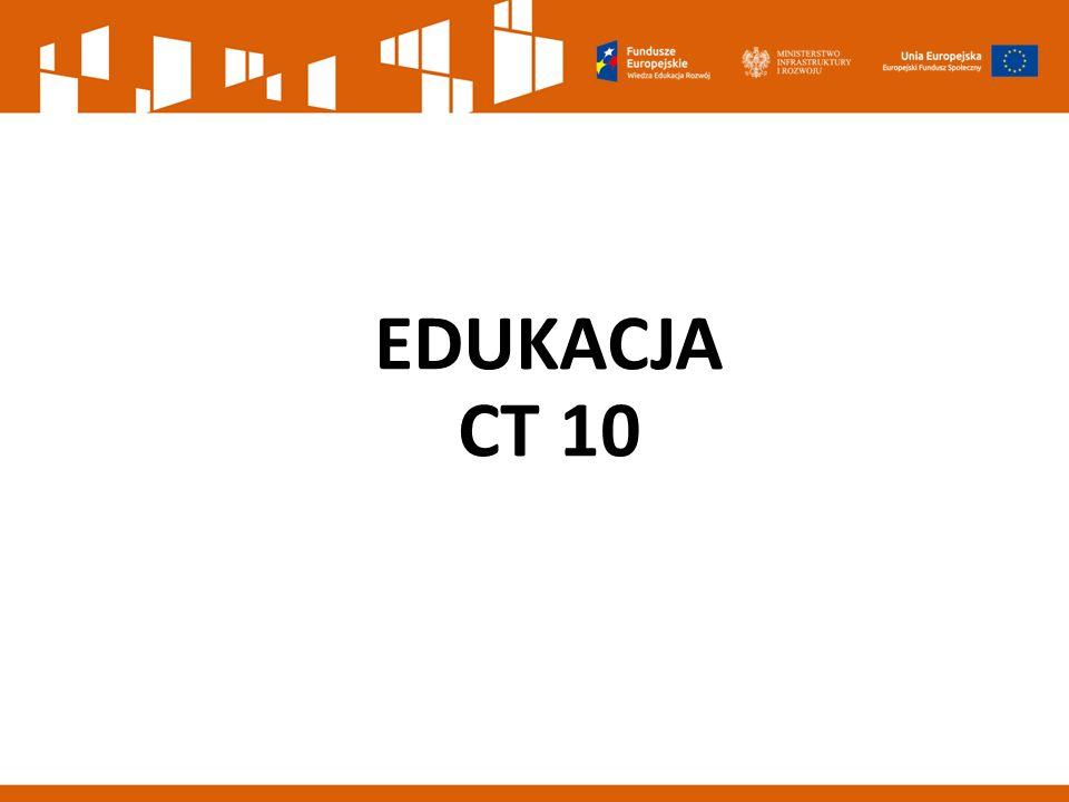 EDUKACJA CT 10