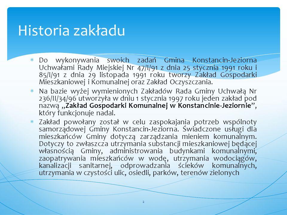  Do wykonywania swoich zadań Gmina Konstancin-Jeziorna Uchwałami Rady Miejskiej Nr 47/I/91 z dnia 25 stycznia 1991 roku i 85/I/91 z dnia 29 listopada