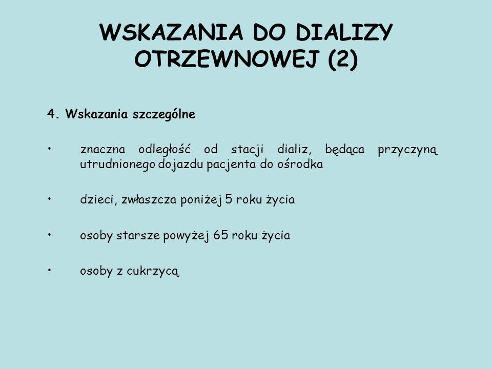 WSKAZANIA DO DIALIZY OTRZEWNOWEJ (2) 4.