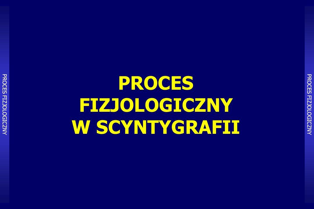 PROCES FIZJOLOGICZNY W SCYNTYGRAFII PROCES FIZJOLOGICZNY