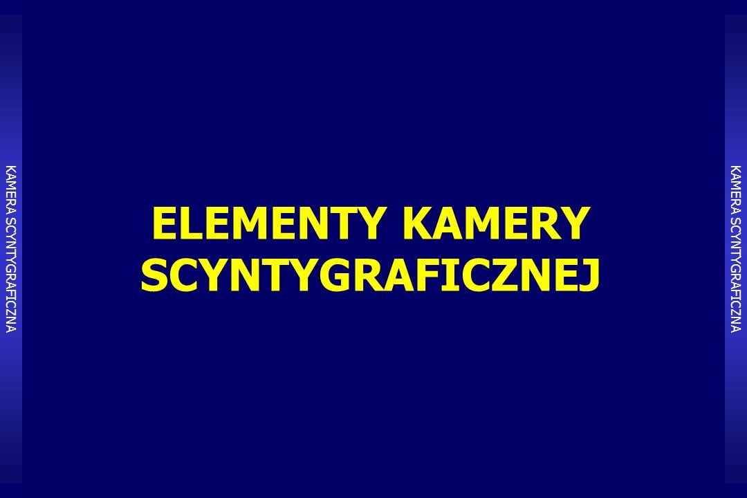 ELEMENTY KAMERY SCYNTYGRAFICZNEJ KAMERA SCYNTYGRAFICZNA