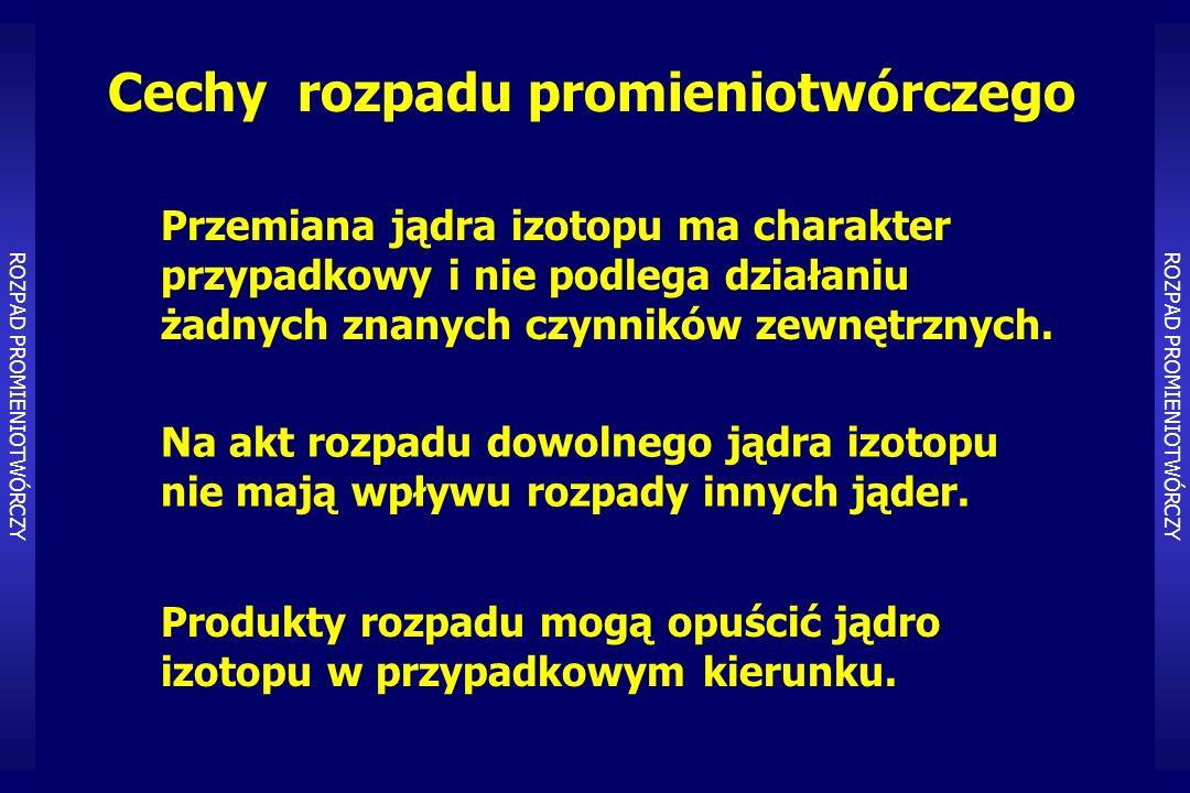Idea diagnostyki radioizotopowej PROCES FIZJOLOGICZNY Proces fizjologiczny Tkanka, narząd, ustrój – farmaceutyk, – substancja biologiczna, – medium życiowe.