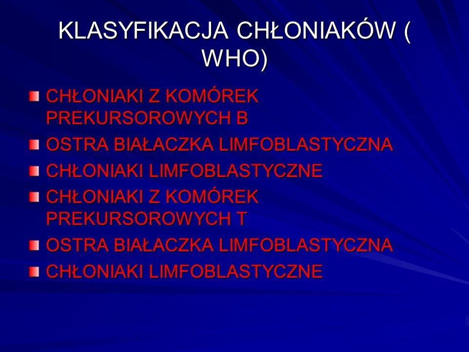 Program chemioterapii wg schematu CHOEP Vincristine 1.4 mg/ m 2 (max 2 mg, po 60 r.ż.