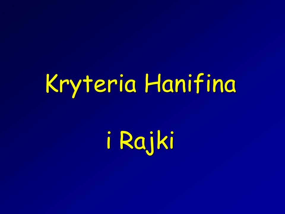 Kryteria Hanifina i Rajki