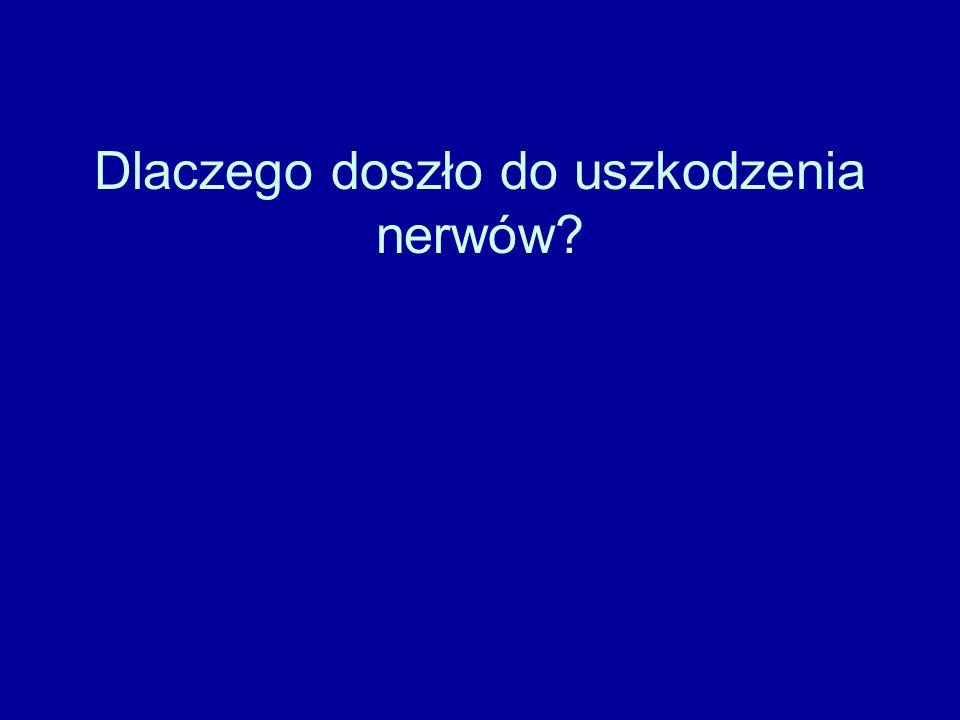 Dlaczego doszło do uszkodzenia nerwów?