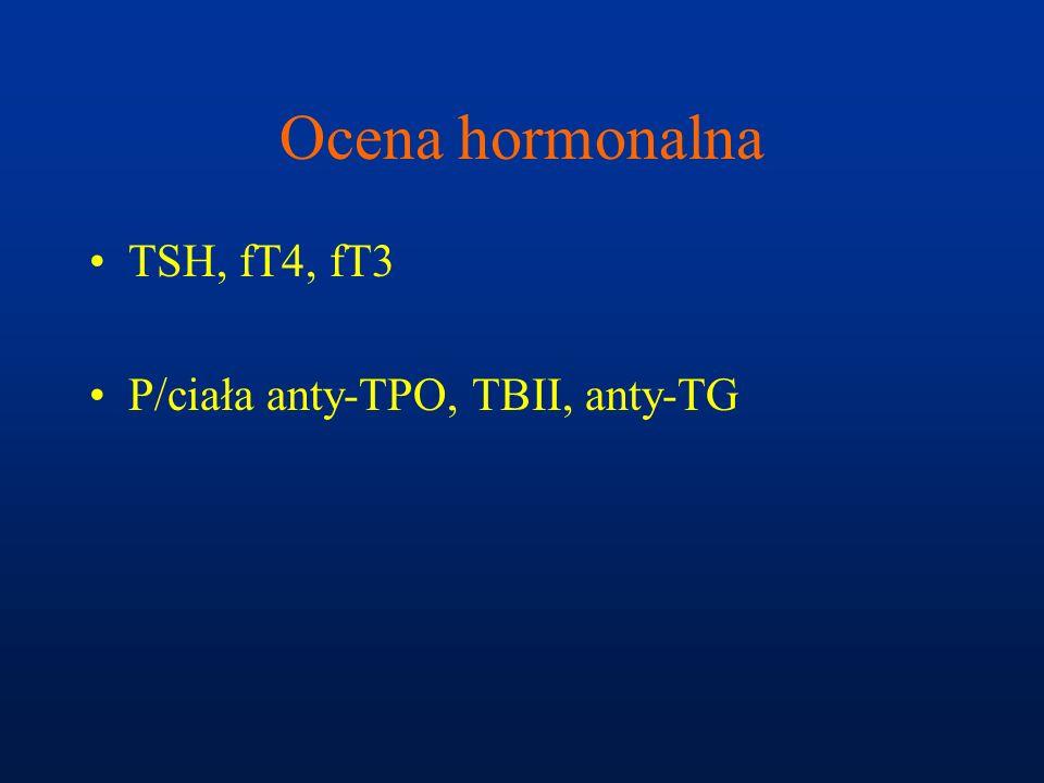 Leczenie wola guzkowego Operacja 131- I Tyreostatyki L-tyroksyna (łagodna zmiana, <35rż, skuteczność 15-50%) Iniekcje etanolu i tetracykliny