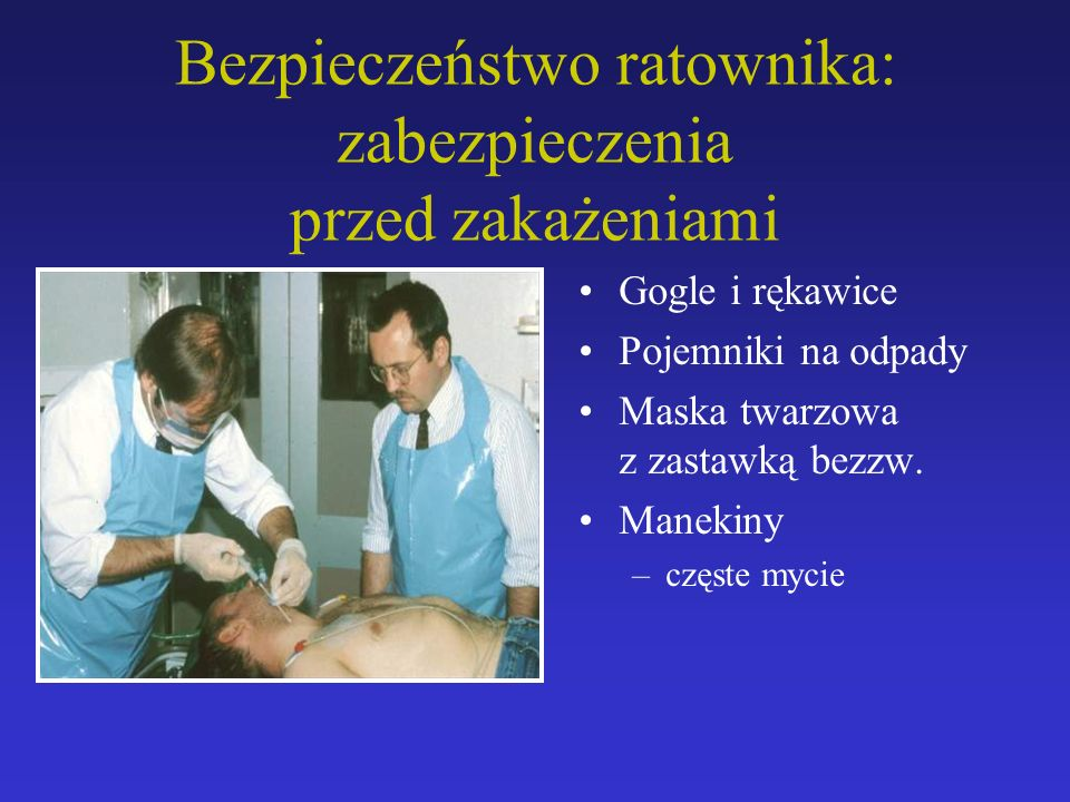 Gogle i rękawice Pojemniki na odpady Maska twarzowa z zastawką bezzw.