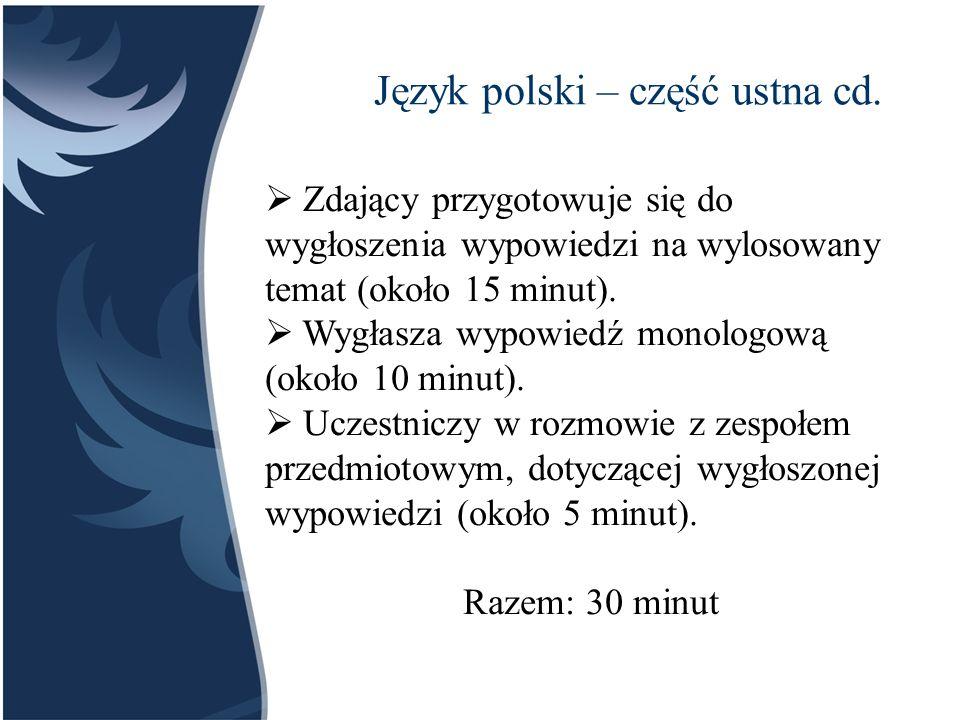  Centralna Komisja Egzaminacyjna: www.cke.pl www.cke.pl  Okręgowa Komisja Egzaminacyjna w Gdańsku: www.oke.gda.plwww.oke.gda.pl  Ministerstwo Edukacji Narodowej: www.men.gov.pl www.men.gov.pl  IX Liceum Ogólnokształcące, zakładka MATURA: www.ixlo.torun.plwww.ixlo.torun.pl Informacje o maturze