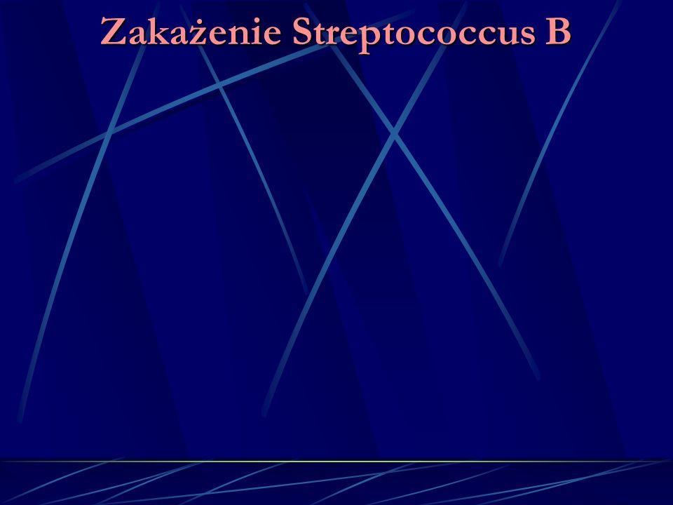 Zakażenie Streptococcus B