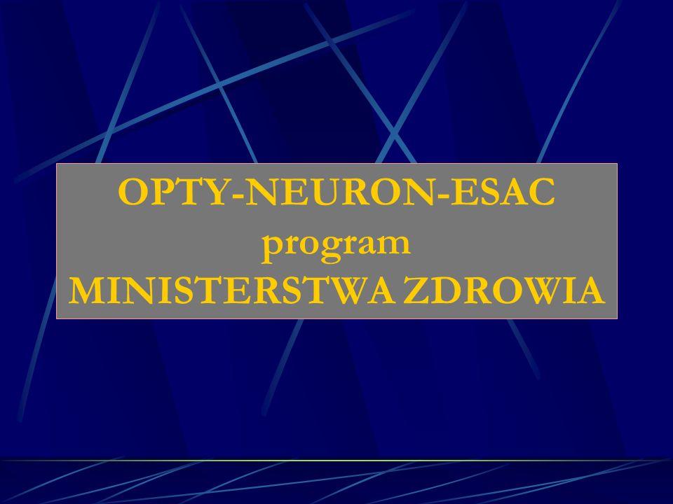 OPTY-NEURON-ESAC program MINISTERSTWA ZDROWIA