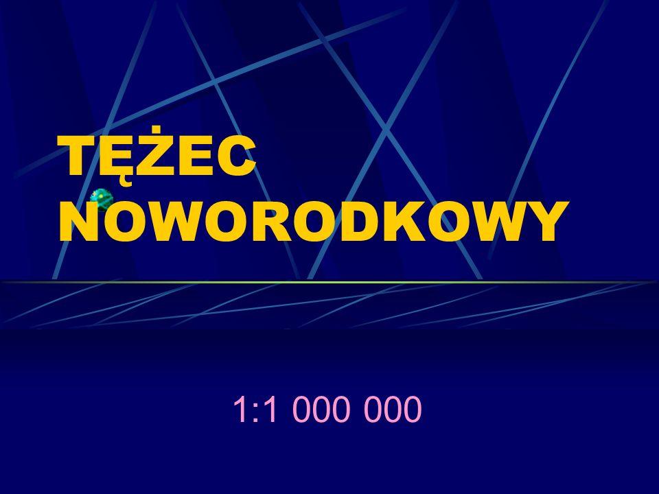 TĘŻEC NOWORODKOWY 1:1 000 000