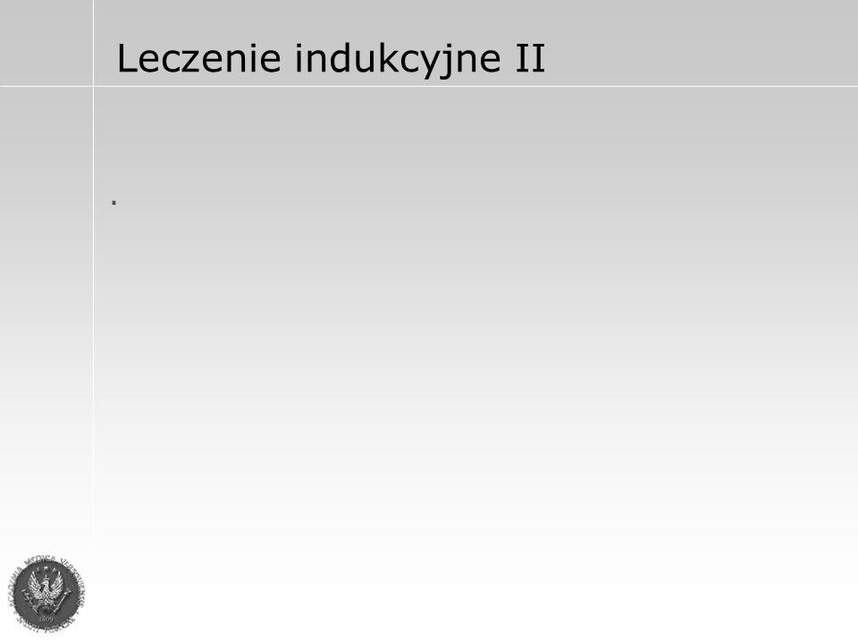 Leczenie indukcyjne II.