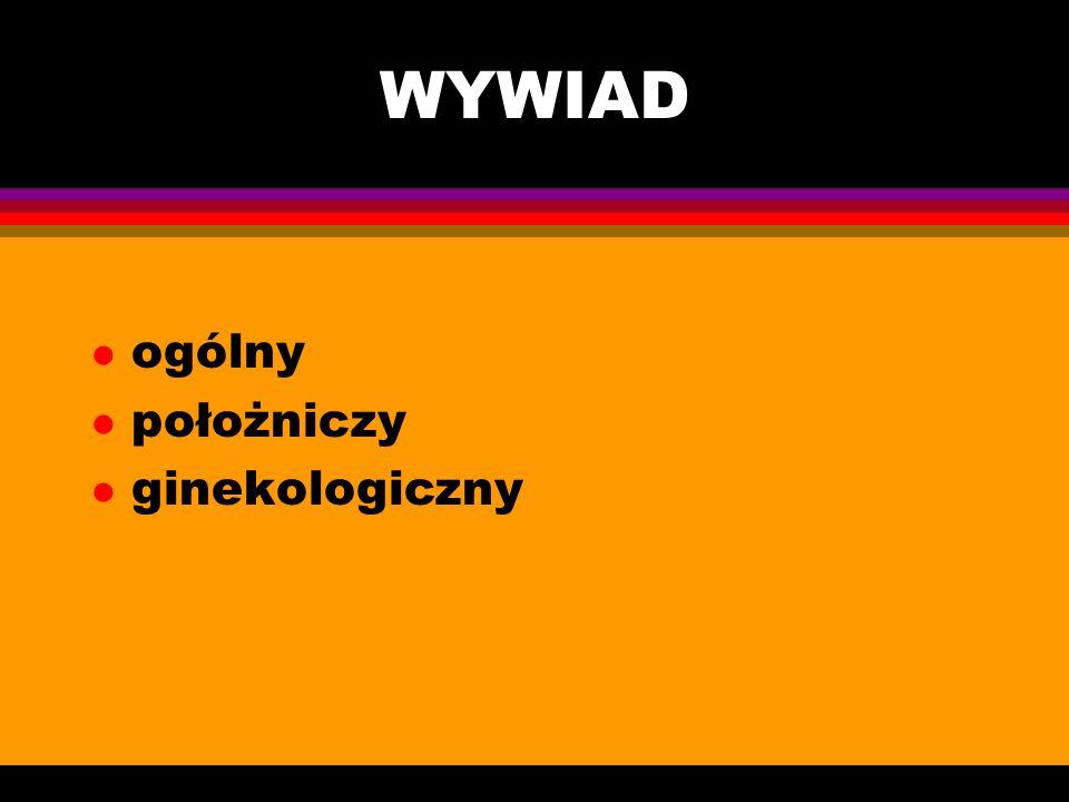 BADANIE GINEKOLOGICZNE Uniwersytet Medyczny w Łodzi I Katedra Ginekologii i Położnictwa