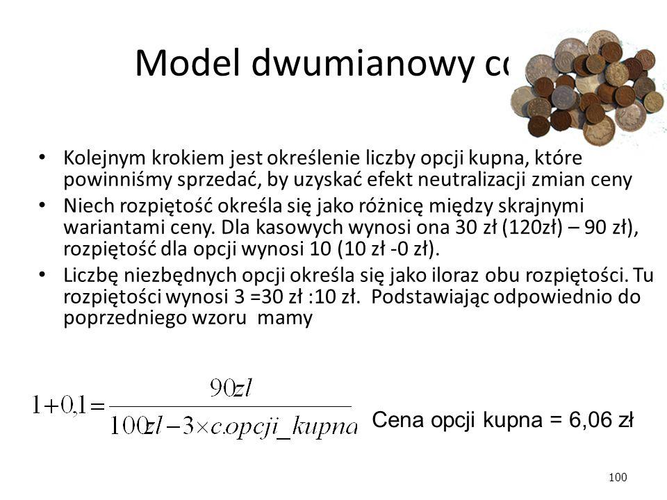 100 Model dwumianowy cd.