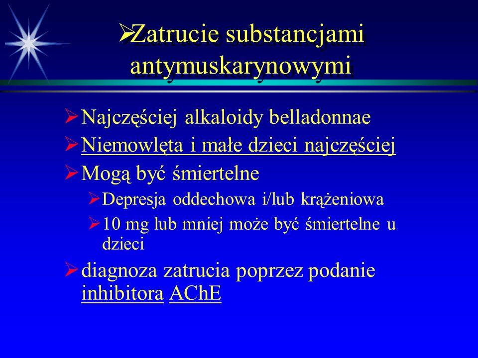  Właściwości farmakologiczne Ośrodkowy układ nerwowy   Osłabienie koncentracji i pamięci   Senność i uspokojenie   pobudzenie   niezborność 