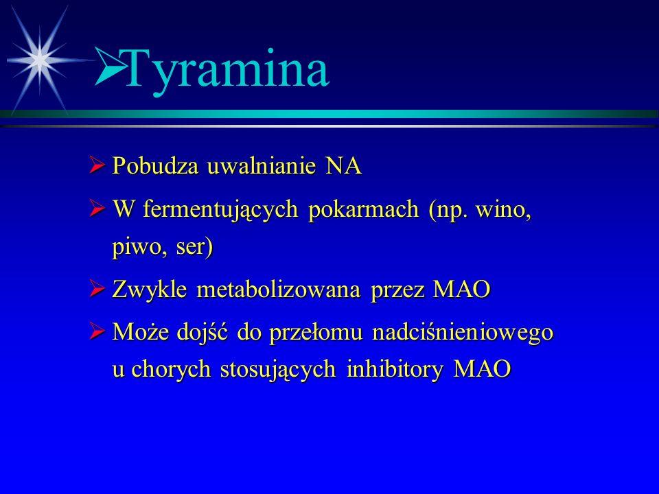  Amfetamina  działania niepożądane:  zależność psychiczna  psychoza toksyczna  depresja, niepokój, bezsenność  tachykardia, nadciśnienie  rozsz