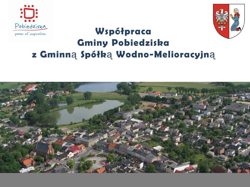 Współpraca Gminy Pobiedziska z Gminn ą Spółk ą Wodno-Melioracyjn ą