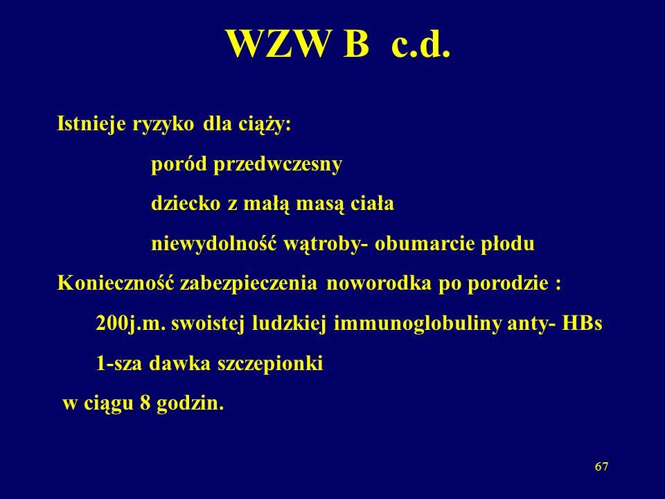 68 Listeria monocytogenes L.m.izoluje się u ok.