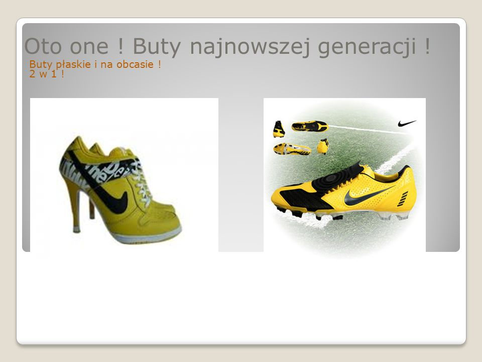 Oto one ! Buty najnowszej generacji ! Buty płaskie i na obcasie ! 2 w 1 !