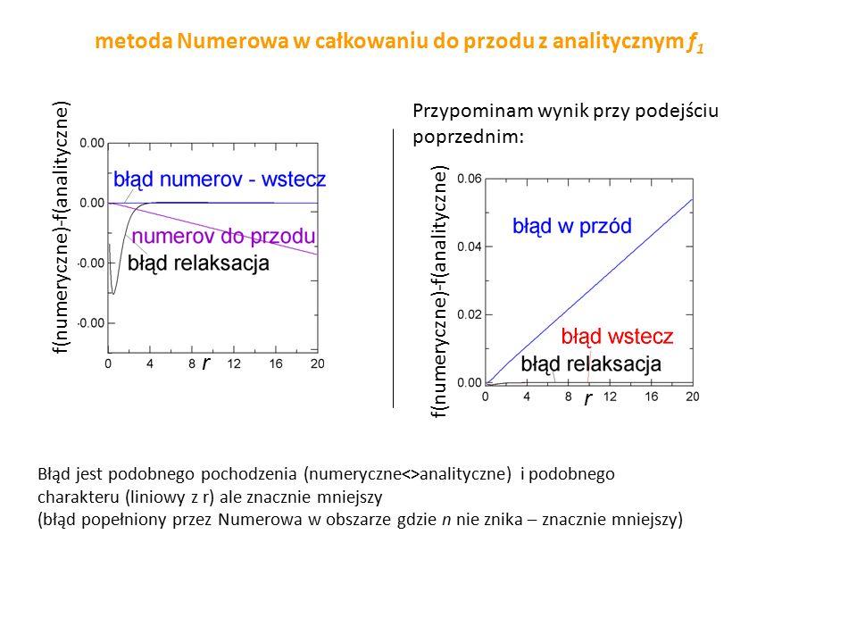 metoda strzałów z iteracją Newtona  y 1 (b,  ) B można metodą Newtona y 1 (b;  )-B=0 potrzebna pochodna po  jak wyznaczyć: