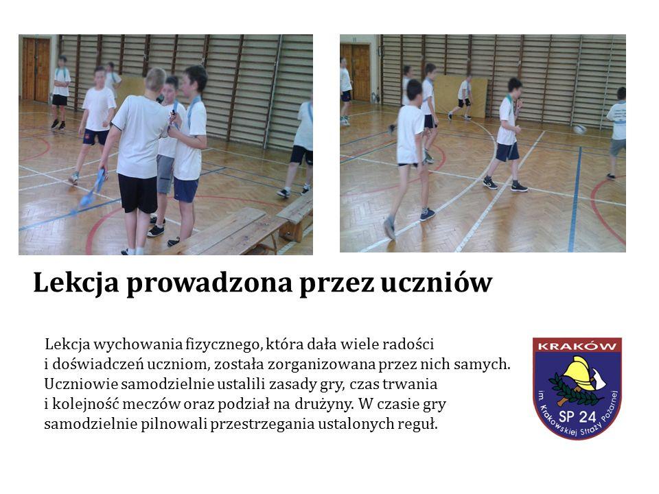 Dziewczęta i chłopcy klas IV-V uczestniczyli w Turnieju Piłki Ręcznej.