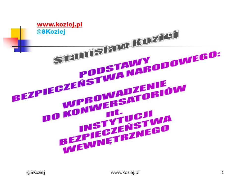 @SKoziejwww.koziej.pl1 @SKoziej