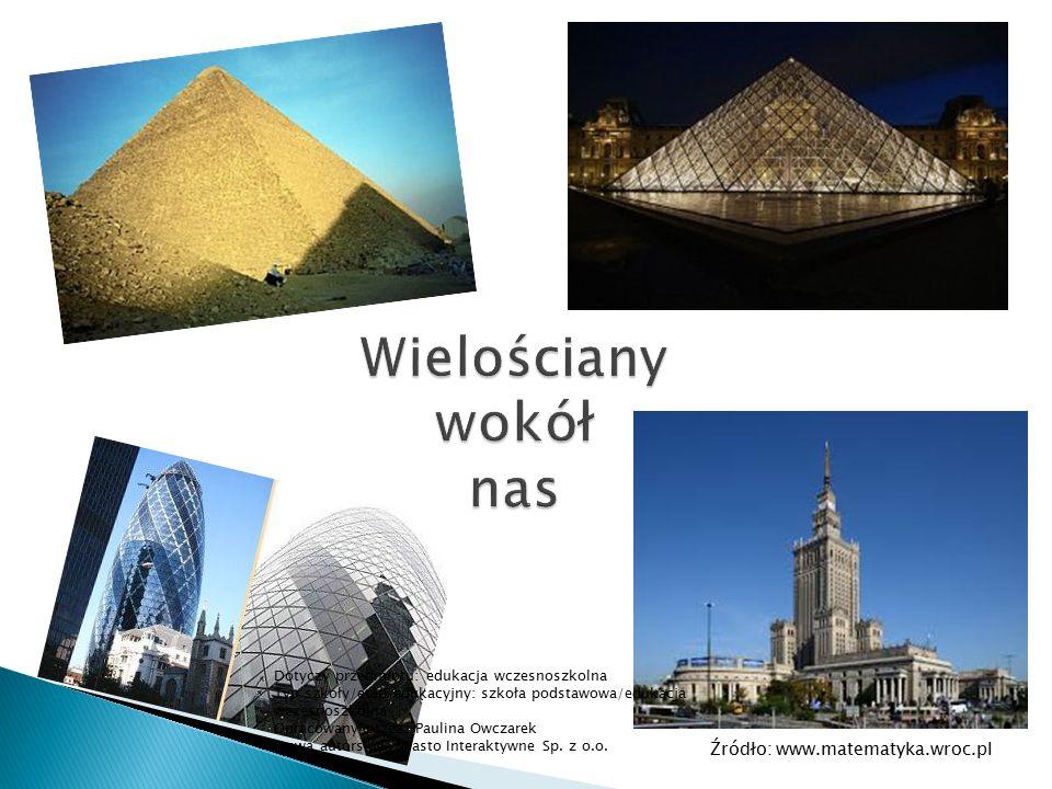 Źródło: www.matematyka.wroc.pl Dotyczy przedmiotu: edukacja wczesnoszkolna Typ szkoły/etap edukacyjny: szkoła podstawowa/edukacja wczesnoszkolna Oprac