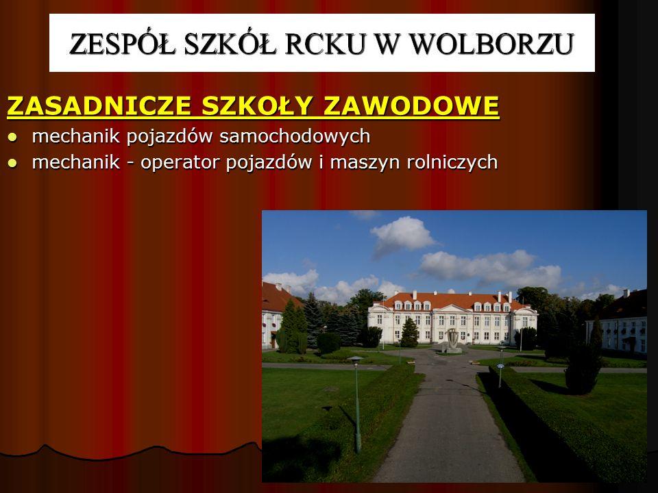 INTERNAT mieści się w zabytkowym kompleksie pałacowo – parkowym z XVIII w., mieści się w zabytkowym kompleksie pałacowo – parkowym z XVIII w., dysponuje 154 miejscami noclegowymi.