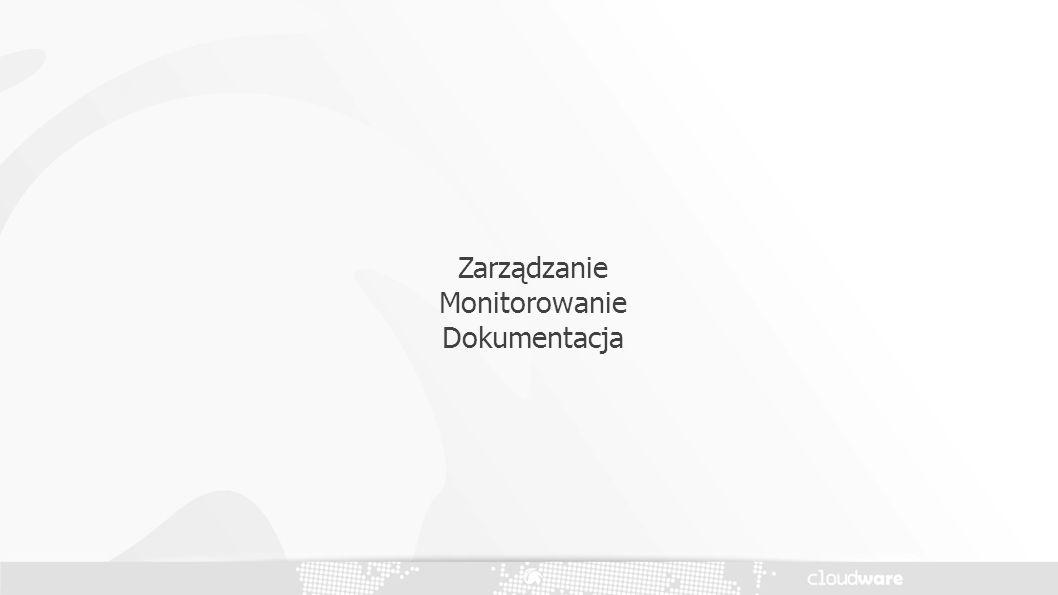 Zarządzanie Monitorowanie Dokumentacja