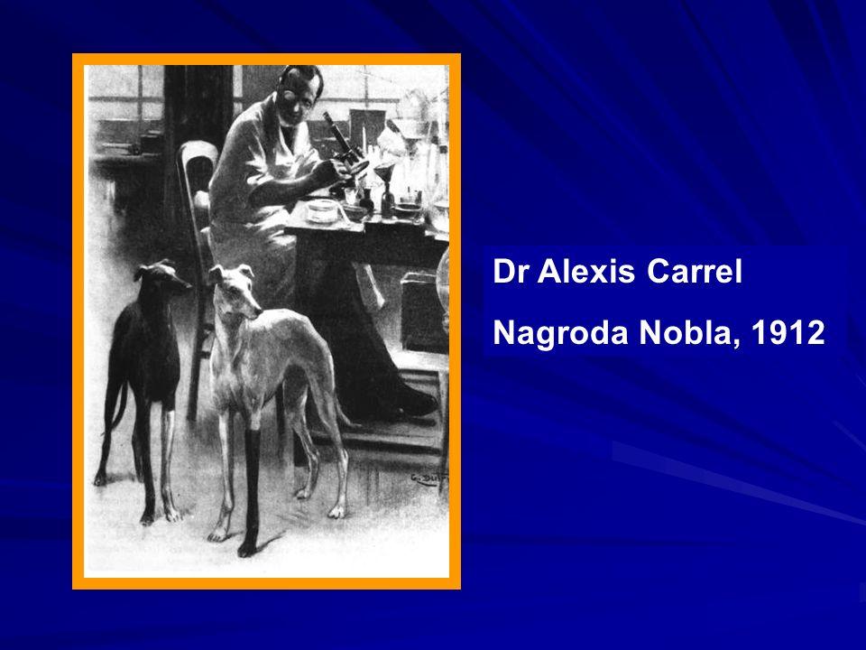 Dr Alexis Carrel Nagroda Nobla, 1912