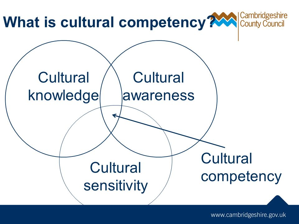 What is cultural competency .