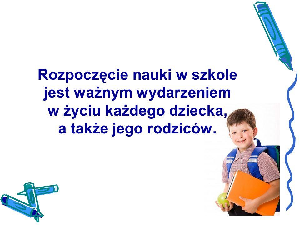 ,,Edukacja szkolna jest wielkim dobrodziejstwem pod warunkiem, że dzieci potrafią sprostać wymaganiom stawianym w szkole, a także korzystać z nauki szkolnej.