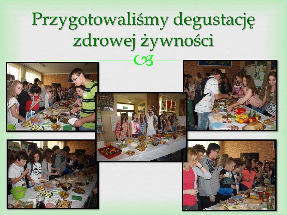  Przygotowaliśmy degustację zdrowej żywności