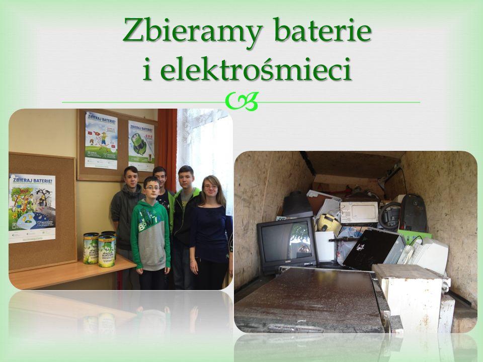  Zbieramy baterie i elektrośmieci