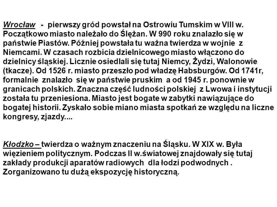Wrocław - pierwszy gród powstał na Ostrowiu Tumskim w VIII w.