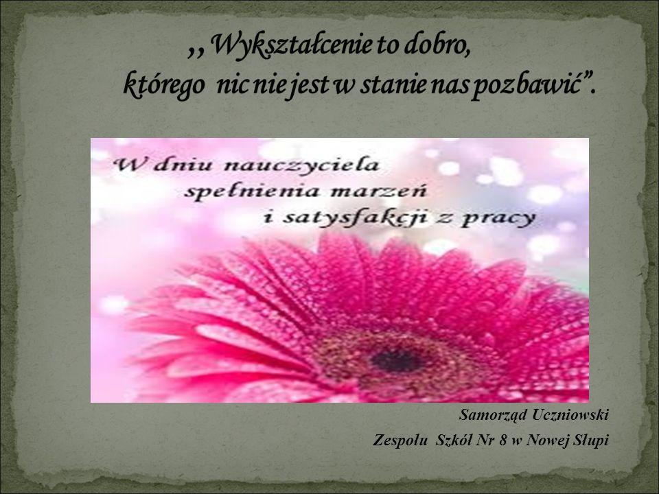 Samorząd Uczniowski Zespołu Szkół Nr 8 w Nowej Słupi