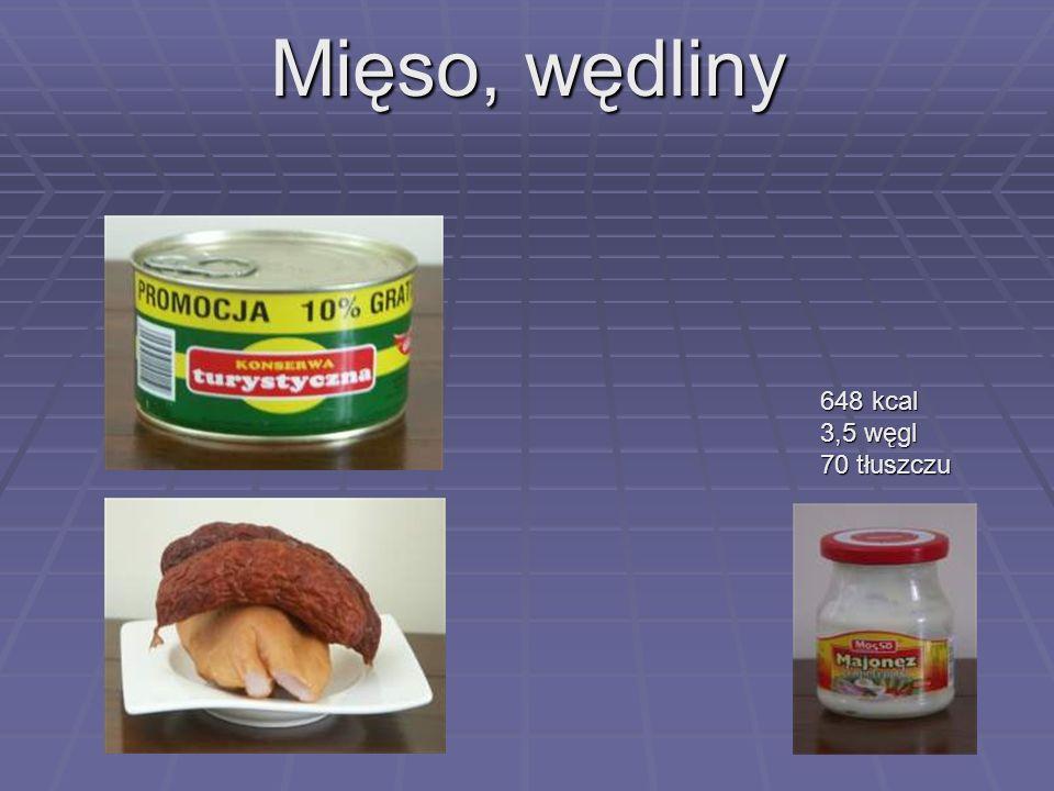 Pieczywo 355 - 360 kcal 1 kromka 23-24 kcal