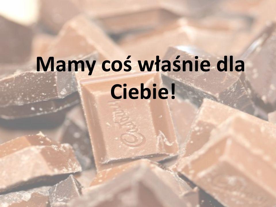 Przedstawiamy nową, dietetyczną czekoladę.