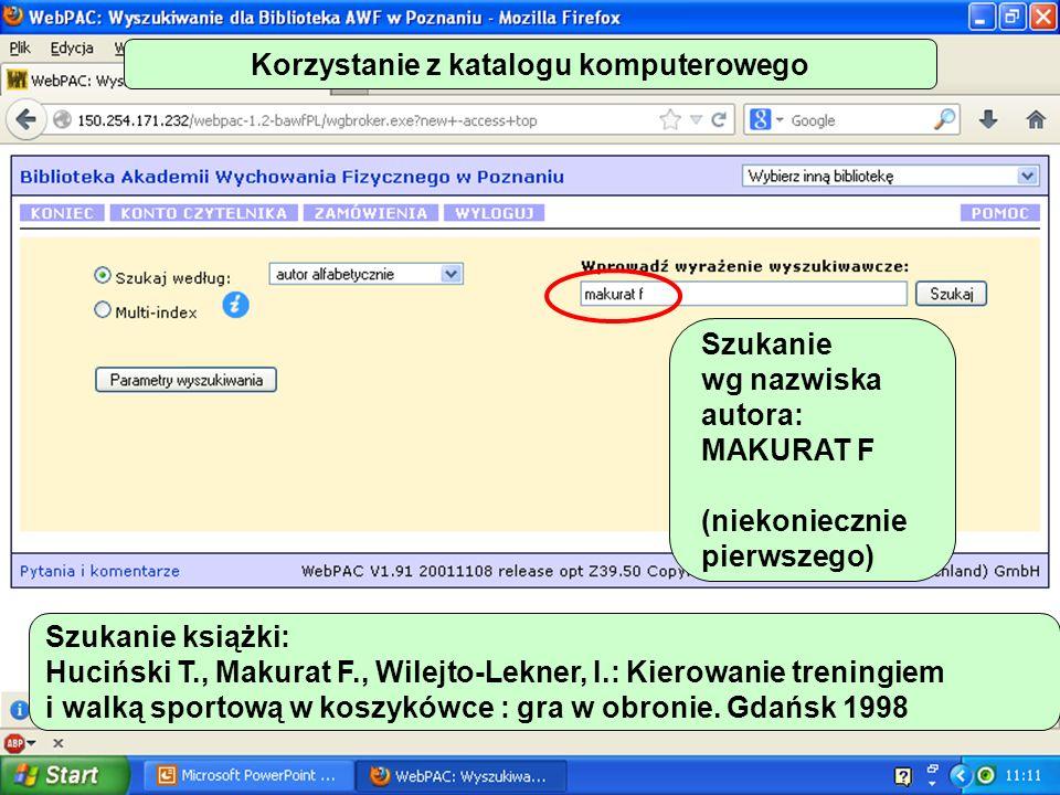 Wypożyczalnia Rejestracja wypożyczeń – tylko komputerowo.