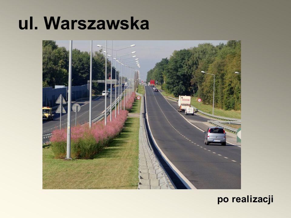 po realizacji ul. Warszawska